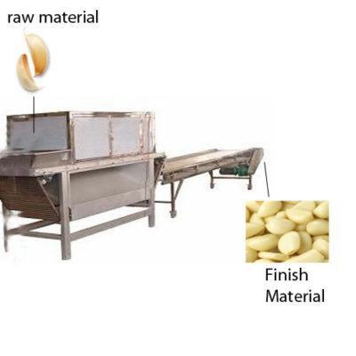 garlic peeling machine 1000kg