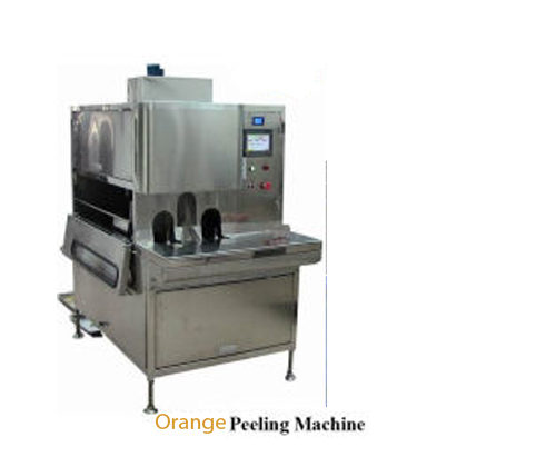 orange peeling machine